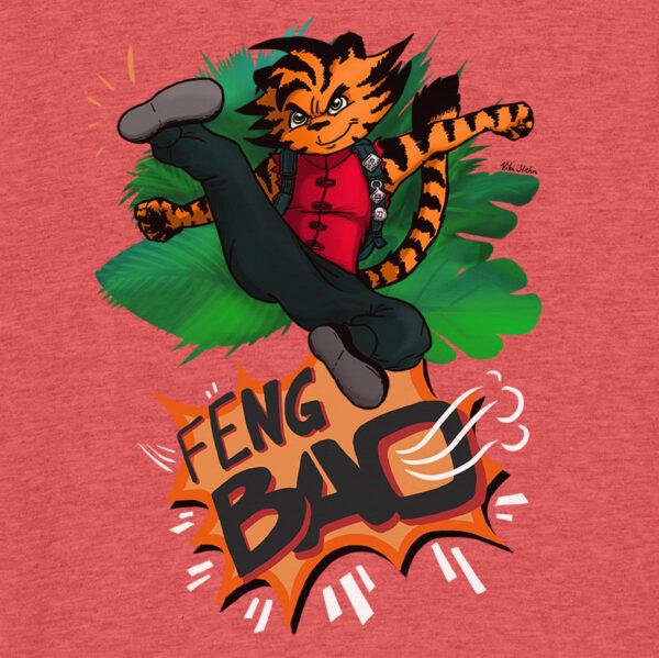 fengbao kids kinder kung fu t shirt organic cotton wien 1080 shop tiger cool vorne makro