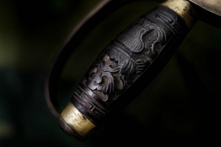 fengbao kung fu history geschichte wissenswertes mini lecture schwert doppelmesser hu die dao wu dip dou griff ornament quer
