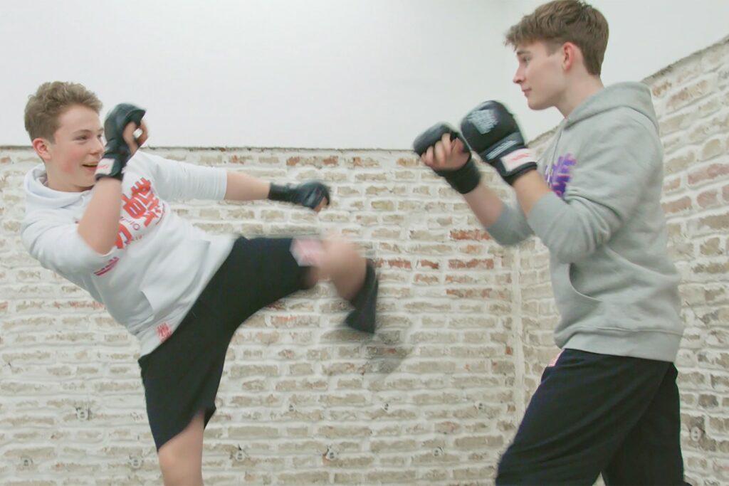 fengbao kung fu teaser sparring kontakttraining kicking striking