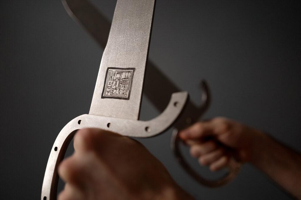 fengbao kung fu wu dip dou mod 1900 46 stahl baat cham dao original nachbau made in austria steel wing chun weapon