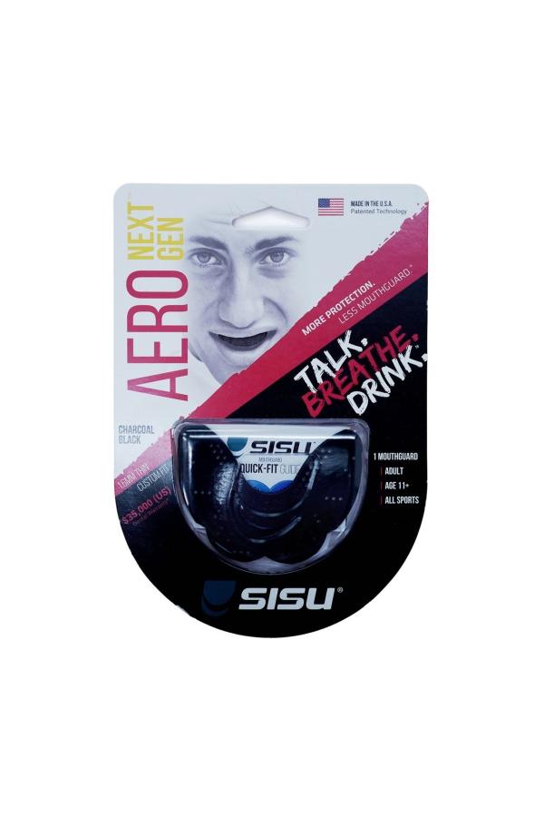 sisu zahnschutz hockey boxen mma quidditch fengbao kung fu 1080 wien shop laudongasse aero charcoal black