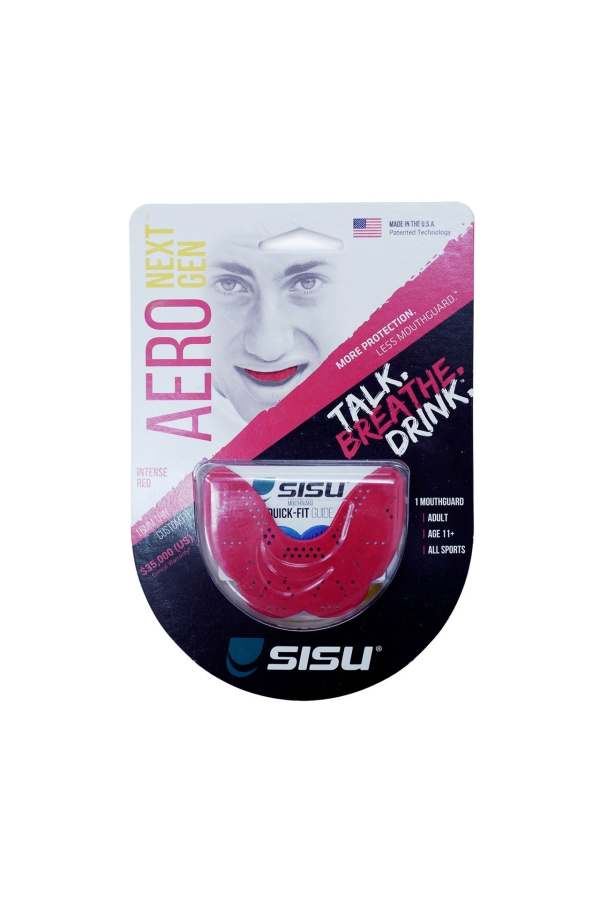 sisu zahnschutz hockey boxen mma quidditch fengbao kung fu 1080 wien shop laudongasse aero intense red