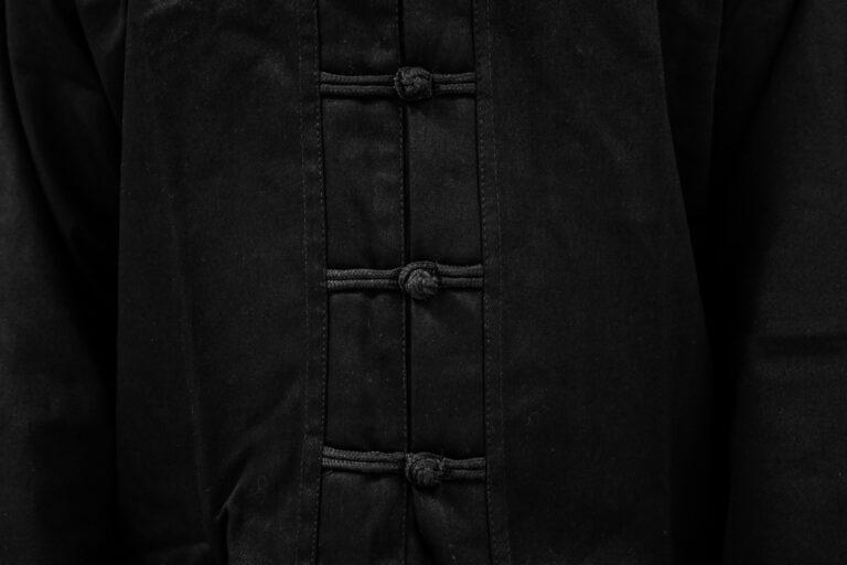 fengbao kung fu anzug schwarz kampfkunst martial arts