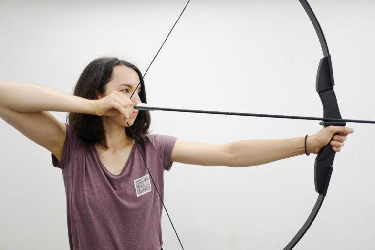 fengbao kung fu archery takedown bogen pfeil vanessa fornezzi kampfsport kampfkunst