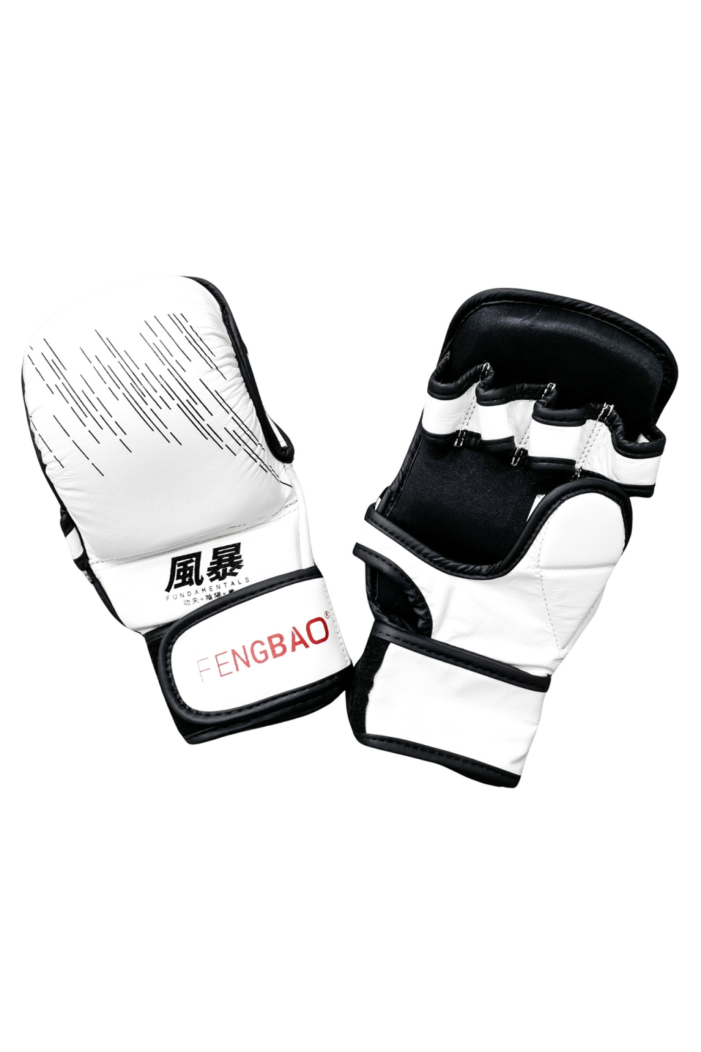 fengbao kung fu fundamentals mma handschuhe boxen grappling kickboxen weiss shop 1080 squashed