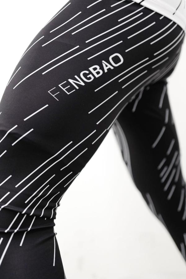 fengbao kung fu wien 1080 bjj grappling leggins kompressions hose maenner schwarz squashed