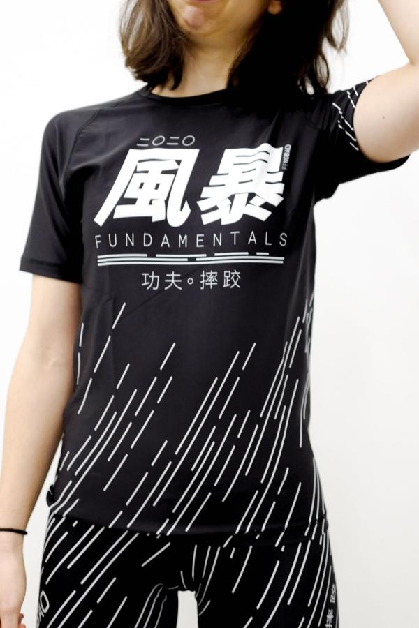 shirt kampfsport kompressions shirt rashgard schwarz shop 1080 fengbao squashed
