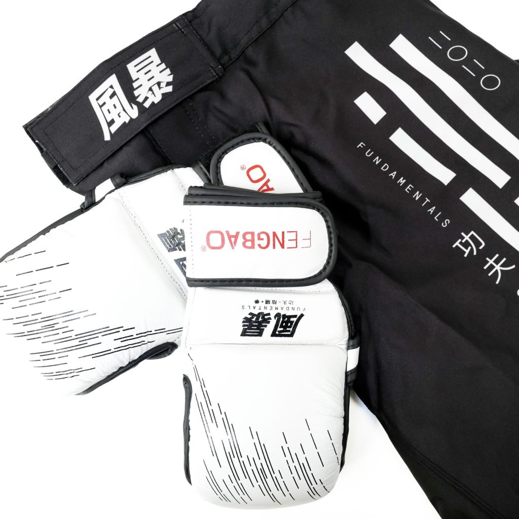 mma short handschuhe fengbao white kampfsport 1080 wien shop quadrat