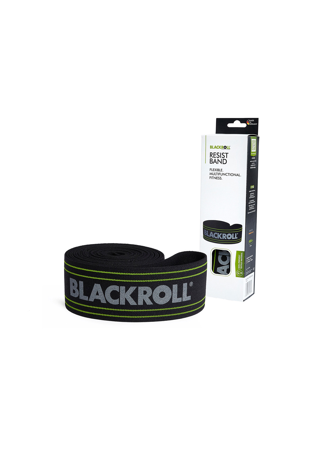 blackroll wien fengbao resist band grey packung schwarz